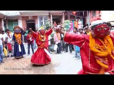 Bhairava Dance (Sawa Bhakku) at Indra Jatra 2072
