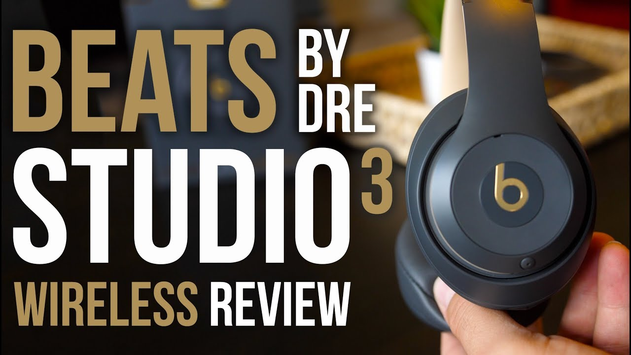 Beats By Dre Studio3 Wireless Headphone Review Youtube