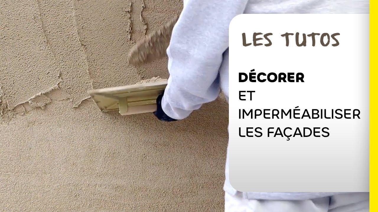 Pose Enduit De Facade Monocouche comment décorer et imperméabiliser les façades avec un enduit monocouche  manuel | les tutos weber
