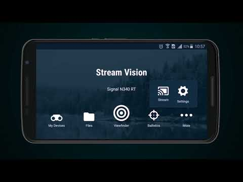 How To Use The Free Stream Vision App  For Android
