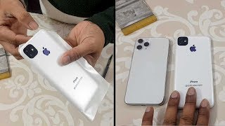 Chinese mobile into iPhone 11 Pro Max | Apple lamination decoration trick