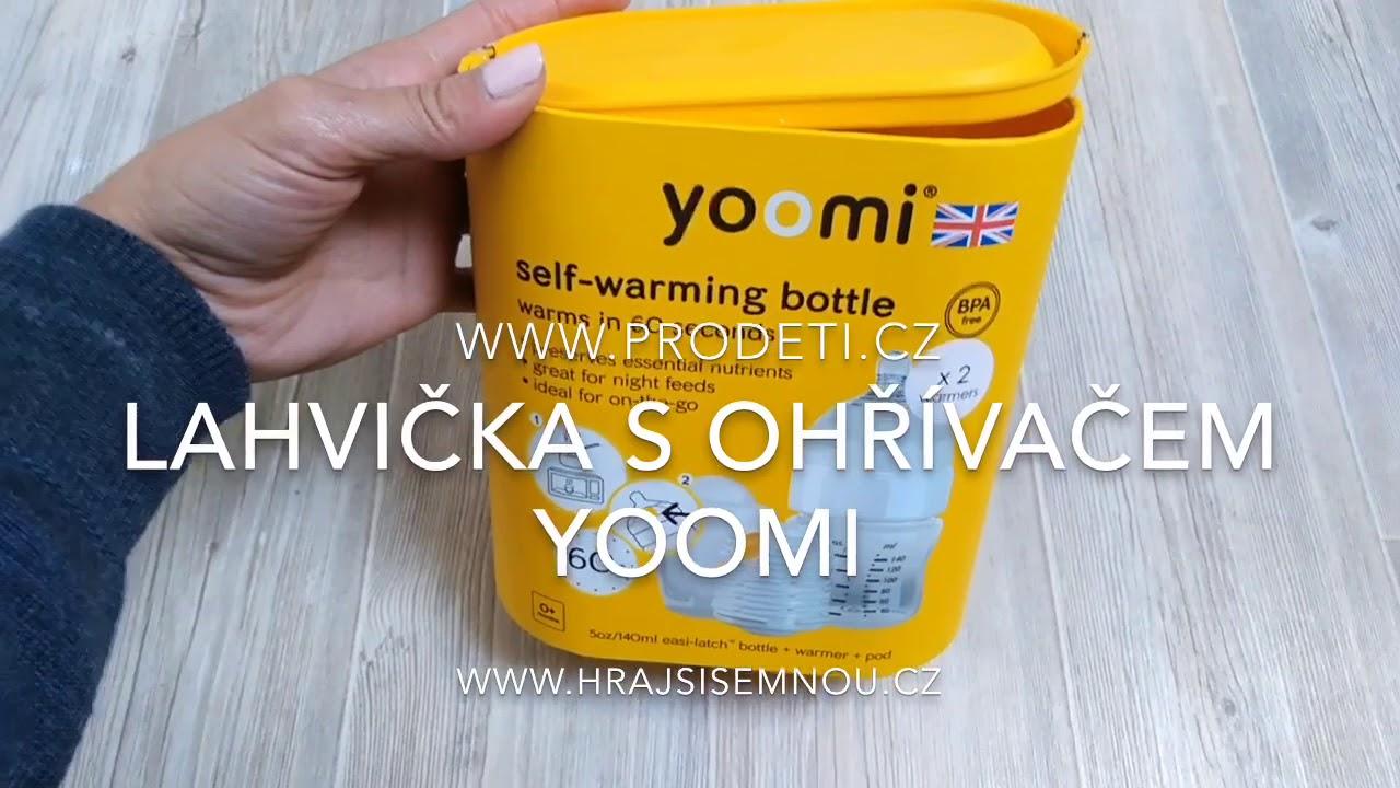 Recenze: Yoomi - kojenecká lahev s ohřívačkou.