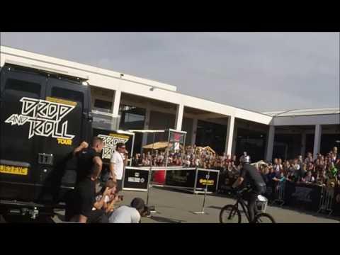 Danny Macaskill Drop and Roll Eurobike 03.09.2016