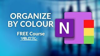 How to ORGANIZE your OneNote Notes BY COLOUR screenshot 5