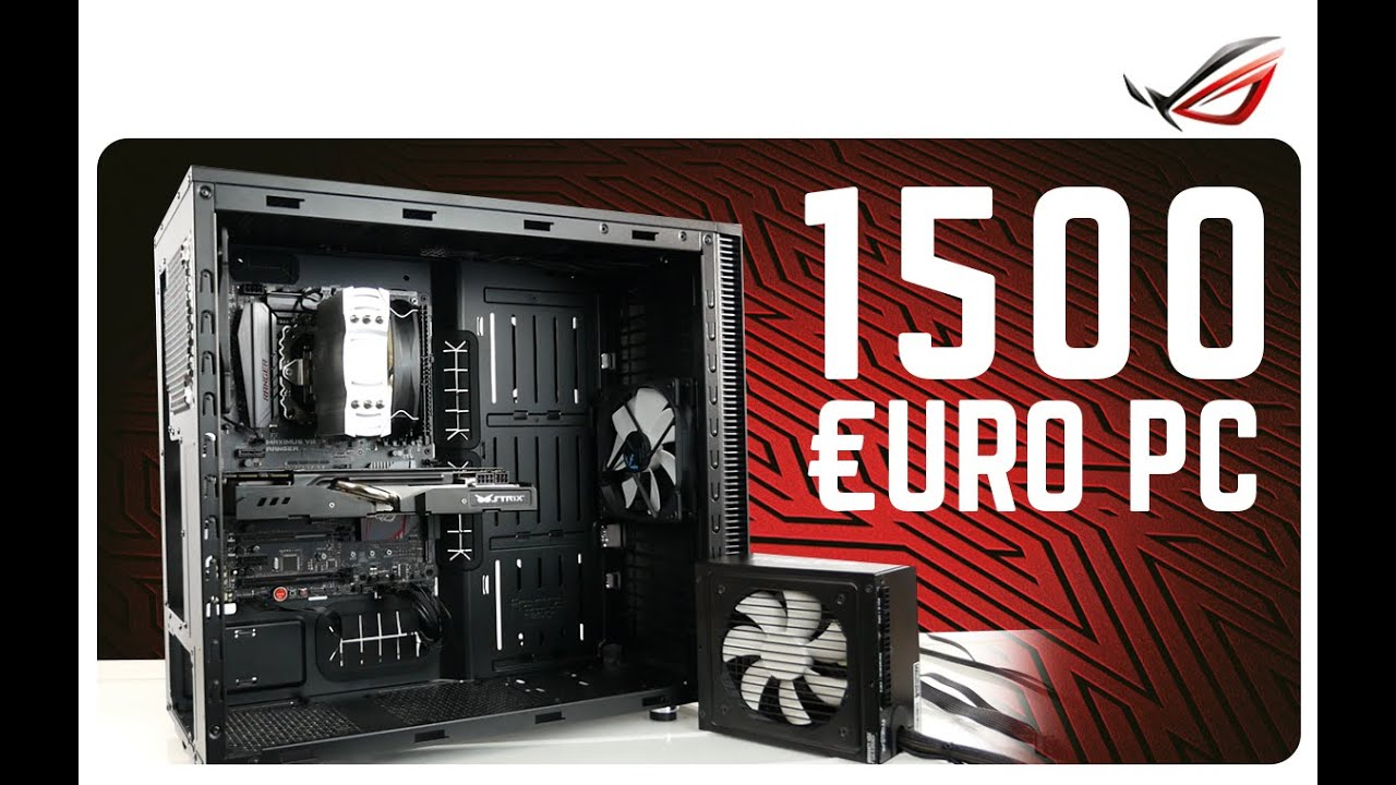 gaming pc 1500 euro