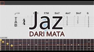 Download lagu Dari Mata - Jaz Tab Guitar Pro