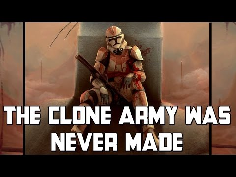 If The Clone Army Wasn't Made: Star Wars Rethink