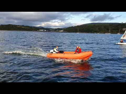 Safety Film:  Dave Garvey, Irish Sailing Training Officer