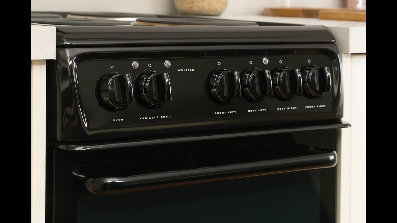 Hotpoint Hw170eks Electric Cooker Youtube Wiring A