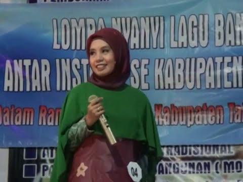 Juara 1 Putri Lomba Nyanyi Lagu Banjar Se Kab Tabalong Tanjung Bungas