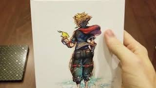 Unboxing of Kingdom Hearts III Deluxe Edition + Bring Arts, Kingdom Hearts III PlayStation 4 Pro