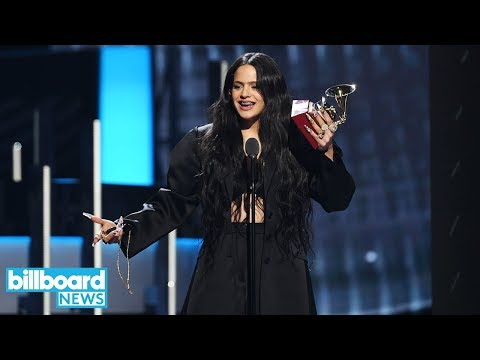 Rosalía & Alejandro Sanz Win Big At 2019 Latin Grammys   Billboard News