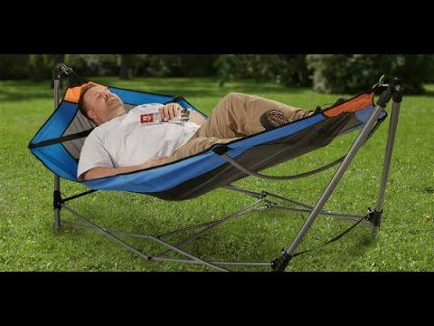 guide gear oversized portable folding hammock guide gear oversized portable folding hammock   youtube  rh   youtube