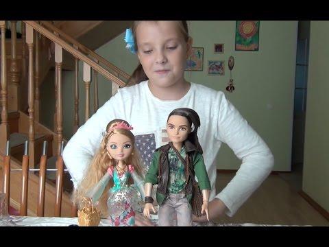 1000 ПОДПИСЧИКОВ!!! Кукла Эвер Афтер Хай.1,000 subscribers!!! Doll Ever after High. Ashlyn Ella.