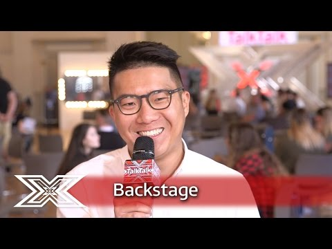The X Factor Backstage with TalkTalk | Ft. Samantha Lavery, Ryan Lawrie and Richard Chen