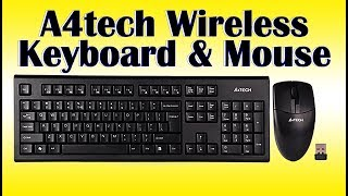 Wireless Desktop 3100n A4tech keyboard and Mouse Review and Price ⌨️