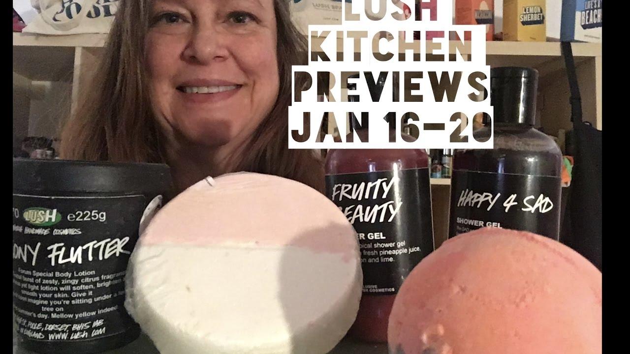 Lush Kitchen Menu Reviews JAN 16-20 - YouTube