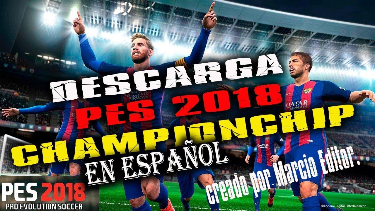 pes 2018 ps2 español descargar