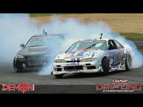 Demon Energy D1NZ Drifting Highlights: Round 4 - Hampton Downs, Waikato 2015