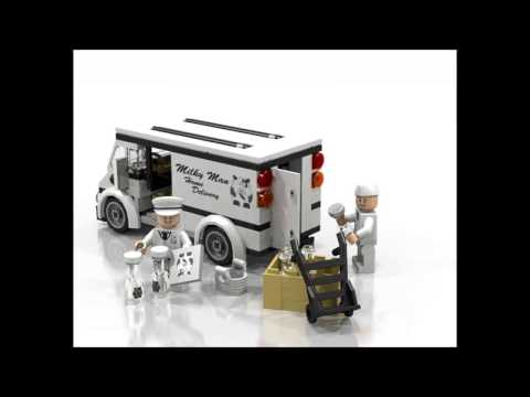 Lego MOC: Home delivery milkman