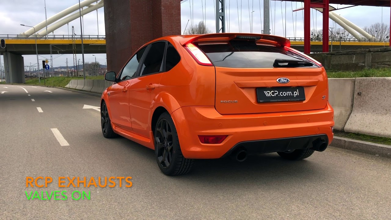 ford focus st 2 5 mk2 rcp turbo back exhaust youtube. Black Bedroom Furniture Sets. Home Design Ideas