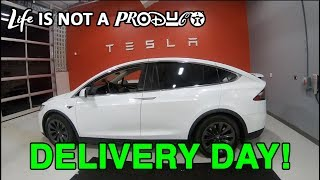 Tesla Delivery Day! Taking Delivery of a Model-X