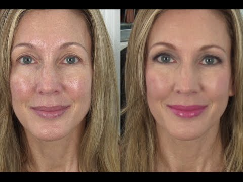 Anti Aging Natural Glam Makeup Tutorial Youtube