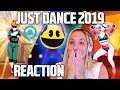 JUST DANCE 2019 TRAILERS REACTION! (Gamescom 2018)