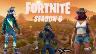 PRIMEIRA VITORIA SEASON 6, SKIN CALAMIDADE ( FORTNITE BATTLE ROYALE)