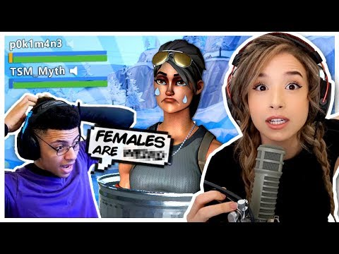 TSM Myth said Females are WHAT?! Fortnite Duos - Pokimane!