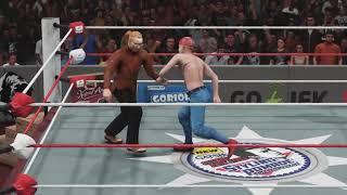 Maell Lee Marcow VS Sule WWE Duel Rampok Rumah Smackdown Lucu