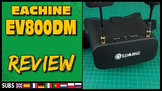 EACHINE EV800DM - FPV Goggle Review