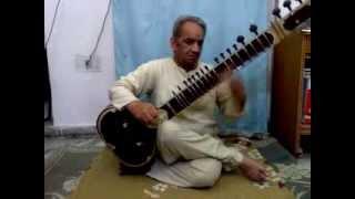 Bharty Sitar Lesson 19  Rag Malkouns That Bharvi Ma -vadi Sa-Samvadi