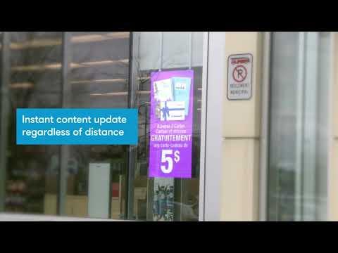 Window LED - Jean Coutu - Nummax Display Innovation