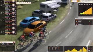 Pro Cycling Manager 2017: Gameplay Col du Galibier