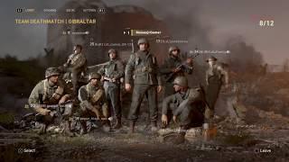 Mi primera partida De Call Of Duty WW2!!!!