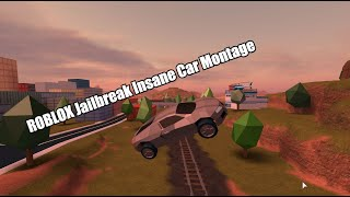 ROBLOX Jailbreak CRAZY Car Jumps!!!