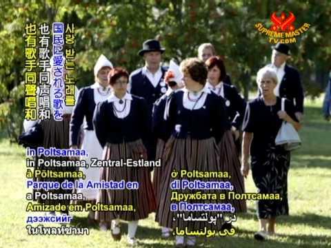Estonia hosts world's first digital song festival