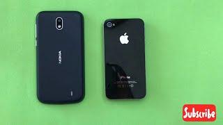 Nokia 1 vs iPhone 4S