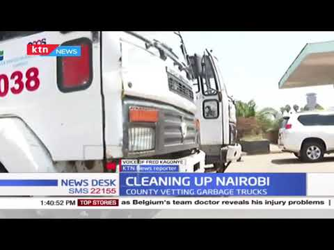 Cleaning Up Nairobi: County seek private garbage collectors as most back streets littered