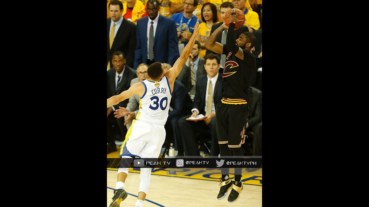 Kyrie Irving's Clutch 3 Pointer Game 7 June 19 2016 NBA Finals - YouTube