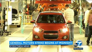 General Motors auto workers go on strike | ABC7