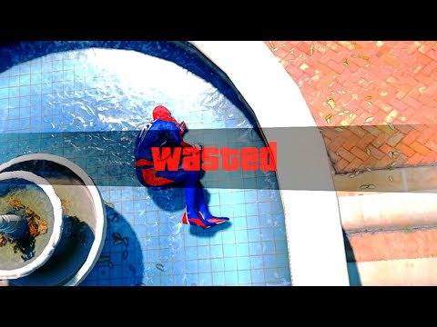 GTA 5 Epic Wasted Compilation SPIDERMAN Flooded Los Santos ep.68 (Funny Moments)