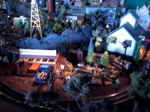 A Short Tour of My O-scale Model Train Layout