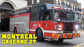 [MONTREAL FIRE | SIM] Station 27 | Heavy Rescue 627 & Engine 227 responding to different calls!