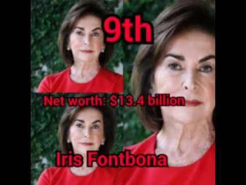 top 10 richest woman in the world and their net worth
