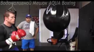 Тренировка на Водоналивном Мешке AQUA Boxing(AQUA Boxing, H2O Боксёрский водоналивной мешок, уникальный боксёрский снаряд позволяющий отрабатывать многочис..., 2016-10-09T17:50:50.000Z)