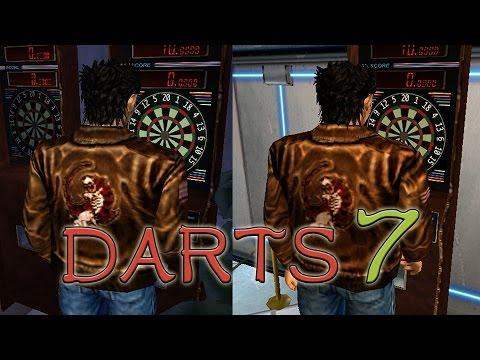Shenmue I & II Comparison - Darts 7