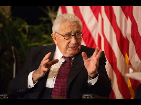 Dr. Henry Kissinger: Vision of a Statesman