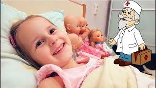 Юляшка заболела простудой Смотрим Мультики и открываем новую куклу ЛОЛ декодер